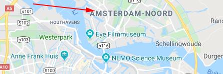 Locatie kaart
